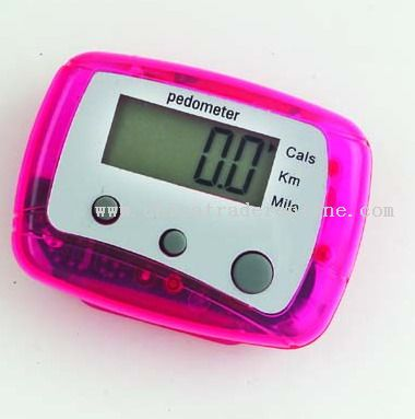A pedometer...so they can walk off all of that candy they didn't get!